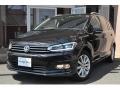 VW ゴルフトゥーランTSIハイラインハーフレザーシート地デジ付純正ナビBカメラ