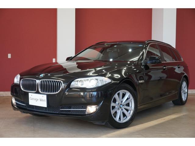 BMW 5シリーズ 523dブルーパフォーマンス ツーリングハイラインP 黒革シート・地デジ付純正HDDナビ・バックカメラ・スマートキー・パーキングセンサー・ETC・HIDライト