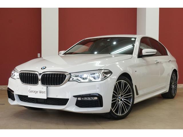 BMW 523i Mスポーツ イノベーションPKG・ステアリング&レーンコントロールアシスト・アクティブサイドコリジョンプロテクション・緊急ブレーキ・ACC・地デジ付純正ナビ・全方位カメラ・スマートキー・LEDライト