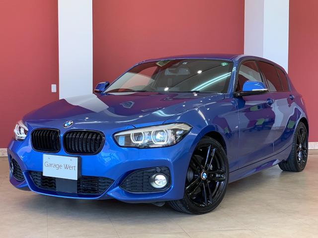 BMW 1シリーズ 118d Mスポーツ エディションシャドー ワンオーナー・インテリジェントセーフティ・レーンアシスト・ACC・アイドリングストップ・純正HDDナビ・バックカメラ・前後PDCセンサー・LEDライト・ETC・LEDフォグ