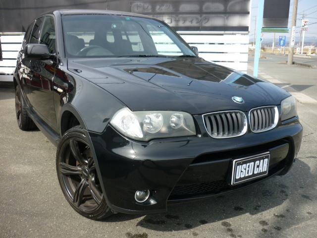 BMW X3 2.5i Mスポーツ サンルーフ 社外19AW