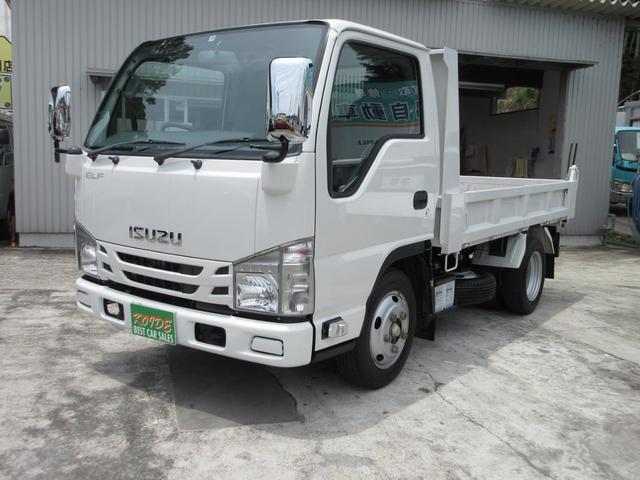 いすゞ エルフトラック 強化ダンプ
