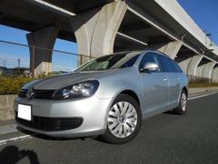 VW ゴルフヴァリアントTSI トレンドライン 禁煙車両 ナビ+バックカメラ付き