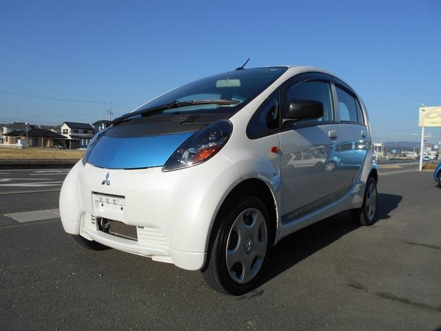 三菱 アイミーブ M 東芝製バッテリー搭載車輛 急速充電コネクター 内外装フルクリーニング済 三菱ディーラーにてバッテリー容量測定実施済 105% ホワイトパールツートン