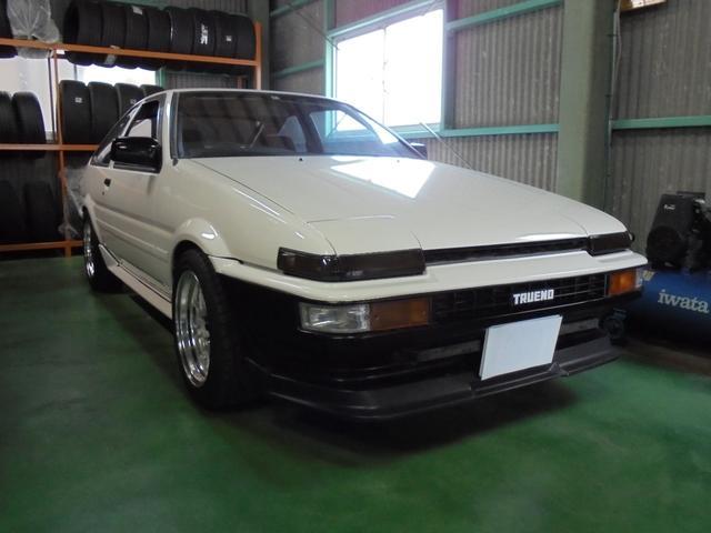 トヨタ GT-V ローダウン 社外マフラー