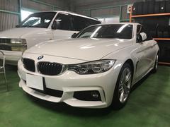BMW420iクーペ Mスポーツ 純正HDDナビ ブラックレザー