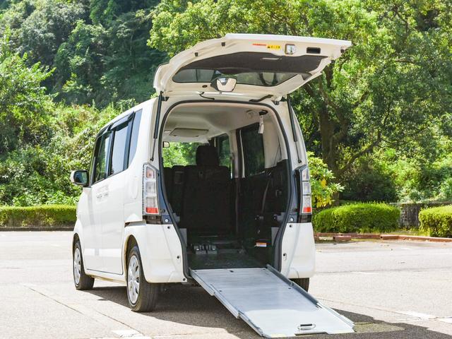 ホンダ G 車いす仕様車/スロープ/電動ウィンチ/リヤシート付/4人乗り/スマートキー&プッシュスタート/両側スライドドア/プライバシーガラス