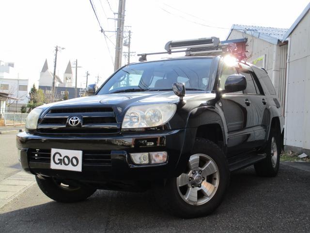 トヨタ SSR-G サンルーフ 4WD