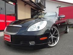 ソアラ430SCV 黒革 WALD19インチAW RS−R車高調