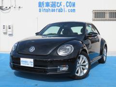 VW ザ・ビートルデザインレザーパッケージ黒本革7型ナビTVキセノンETC禁煙