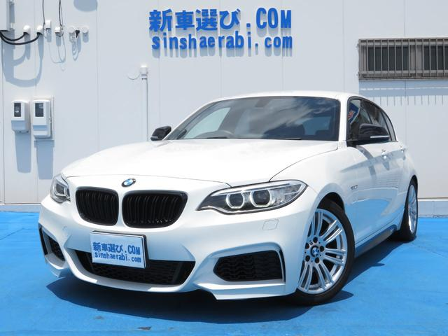 BMW 116i Mスポーツ純正HDDナビカメラETC2シリーズ仕様