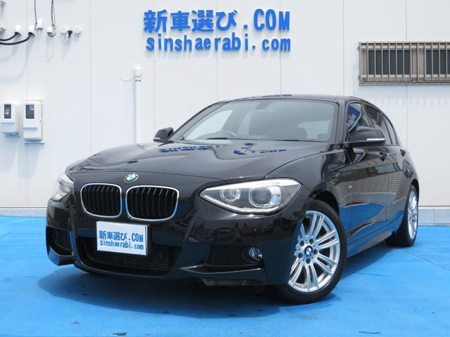BMW 116i Mスポーツ 純正ナビBカメラETC17AWキセノン