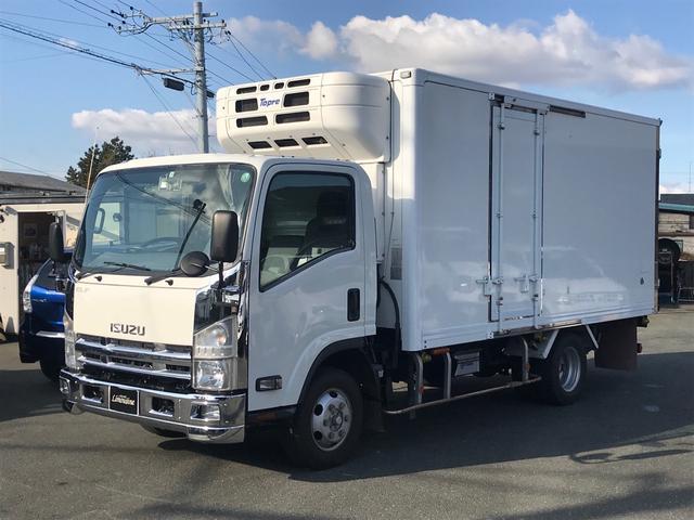 いすゞ  4WD 低温冷蔵冷凍車 スタンバイ サイド扉付き
