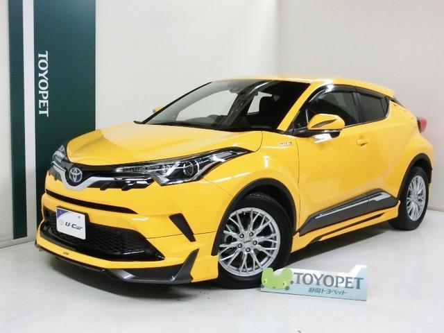 トヨタ S フルエアロ TOM'Sアルミ セーフティセンス ドラレコ