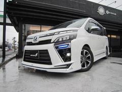 ヴォクシーZS新車未登録車LEDヘッドライトTSSC後期現行型