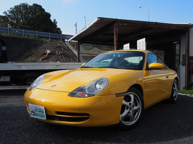ポルシェ 911 911カレラ ディーラー車 左ハンドル 6速MT 本革パワーシート サンルーフ カロッツェリアHDDナビ ETC