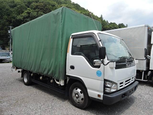 いすゞ エルフトラック 2tワイドロング幌総重量7.5t未満車