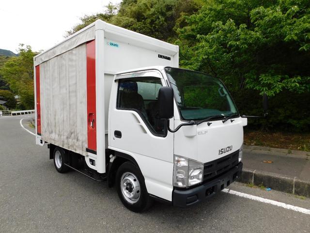 いすゞ アクションバン カーテン車 1.5t
