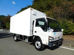 エルフトラック4tワイドロングアルミバンサイドドア ターボ車