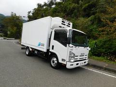 エルフトラック3t冷蔵冷凍車ワイドロング