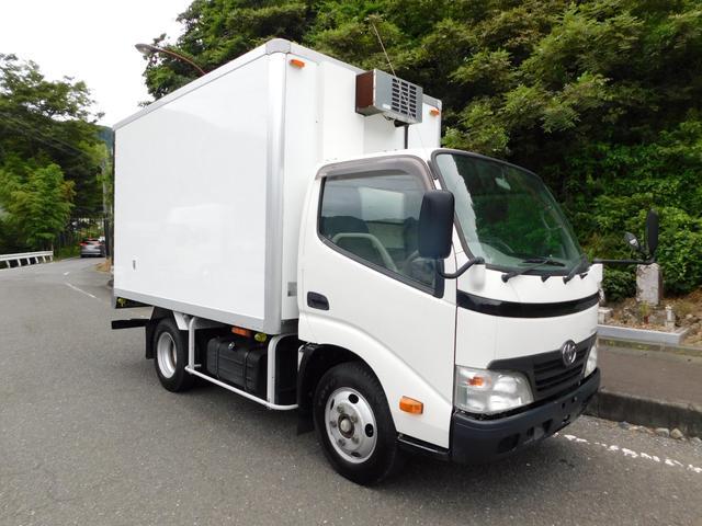 トヨタ 2t冷蔵冷凍車-7度設定 冷凍機点検済 記録簿付