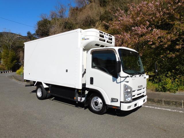 いすゞ 2tロング低温冷蔵冷凍車-30℃設定