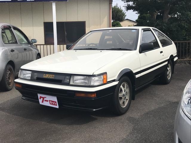 トヨタ 1.6 GT APEX 5速MT アルミ