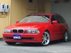 BMW525iツーリングハイラインパッケージ 本革シート SR