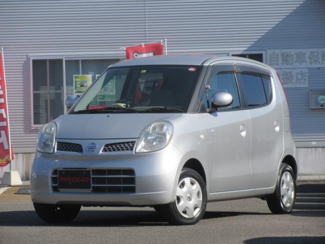 日産 モコ E /1年保証付 CD ベンチシート 前後スピーカー スマートキー オートエアコン タイミングチェーン 電動格納ミラー ドアバイザー ABS ドアバイザー ベンチシート インパネシフト