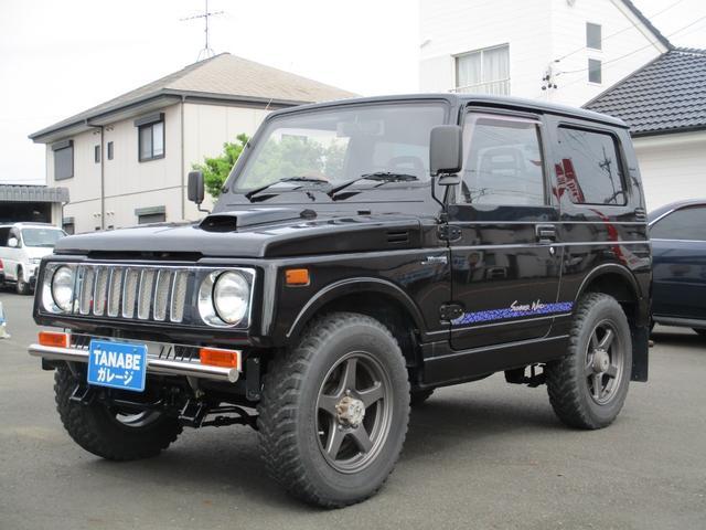スズキ ジムニー サマーウインド リミテッド 4WD 5速 社外バンパー