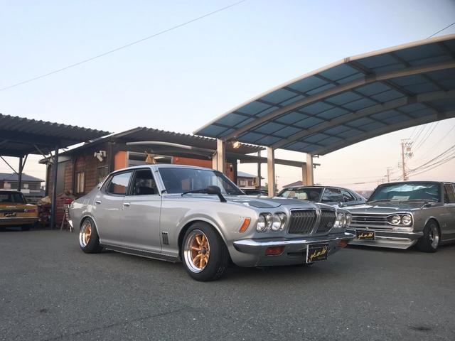 日産 2000GT ソレタコデュアル 前後車高調 ワタナベ鏡面
