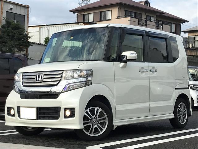 「ホンダ」「N-BOX」「コンパクトカー」「静岡県」の中古車
