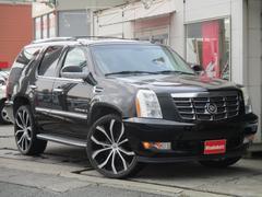 キャデラック エスカレードベースグレード 1ナンバー車 26インチ 黒革 サンルーフ