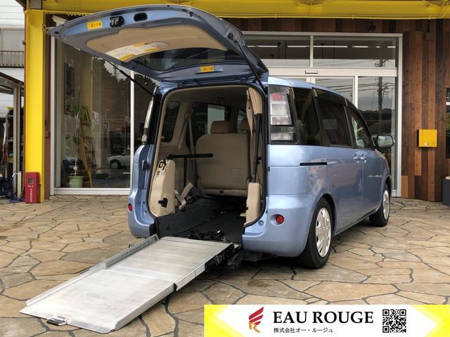 トヨタ X ベース 福祉車両 車いす仕様スロープタイプ