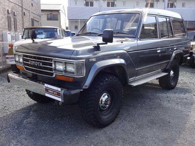 トヨタ GX・HJ60V・リフトUP・2オーナー