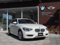 BMW116iスタイル 純正HDDナビ ハーフレザーシート