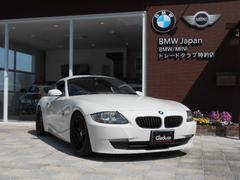 BMW Z4クーペ3.0si レーシングダイナ18アルミ  赤革シート