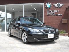 BMW525iハイラインパッケージ サンルーフ 左ハンドル 黒革S