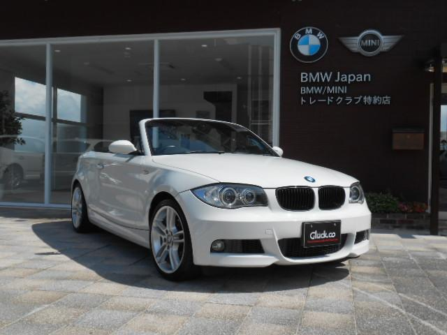 BMW 120i カブリオレMスポーツ仕様 OP18インチアルミ