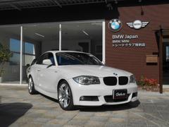 BMW120iクーペMスポーツ HDDナビ  OP18アルミ