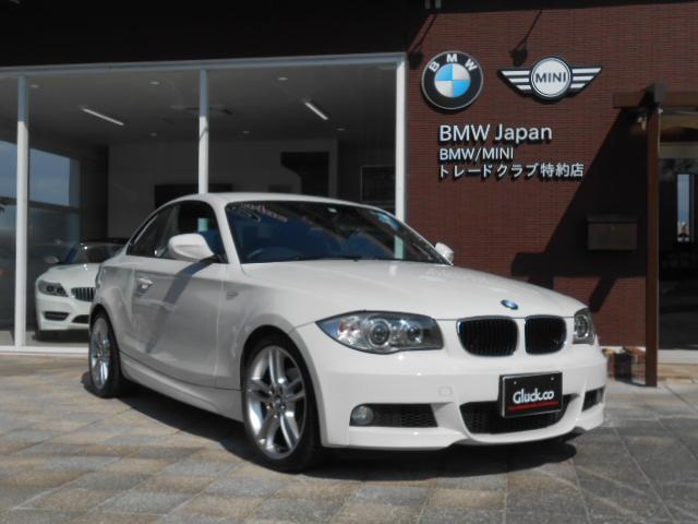 BMW 120iクーペMスポーツ OP18アルミ 純正HDDナビ