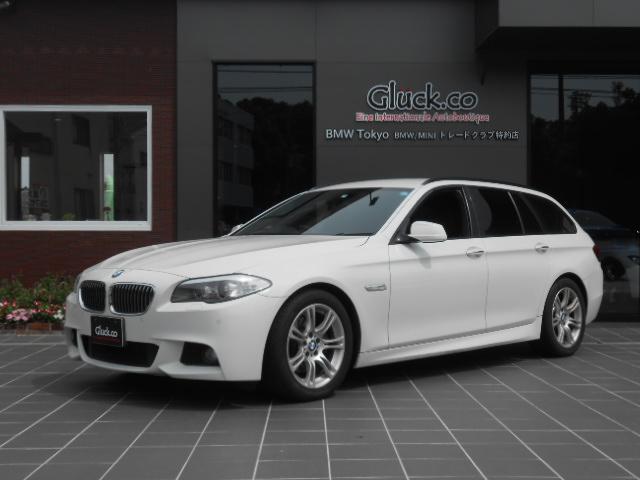 BMW 528iツーリングMスポーツ フルセグTV 黒革シート