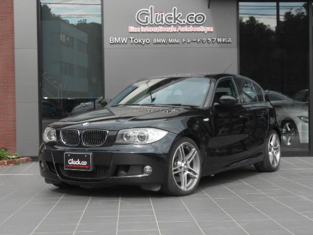 BMW 130i Mスポーツ Mパフォーマンス18インチアルミ 純正HDDナビ キセノンヘッドライト 黒革シート
