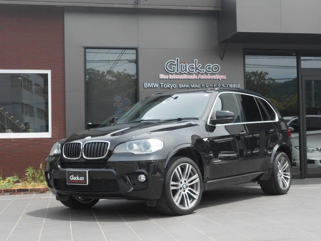 BMW X5 xDrive 35i Mスポーツパッケージ サンルーフ 黒革シート オプションM20インチアルミ 純正HDDナビ フルセグTV DVD再生 ミュージックサーバー Bluetooth対応 社外レーダー