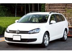 VW ゴルフヴァリアントTSIトレンドラインブルーモーションテクノロジー 車庫保管