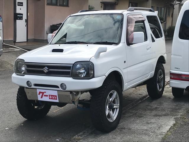 スズキ リフトアップ ルーフレール ETC 4WD キーレス