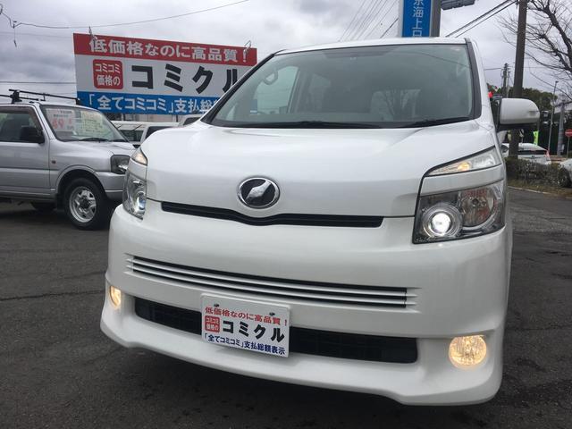 トヨタ ZS TV付ナビ Bカメラ 左側Pスライド 純正エアロ
