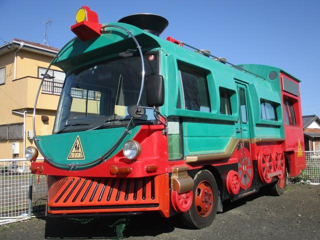 日産  機関車仕様 幼稚園バス 5速 クーラー パワステ