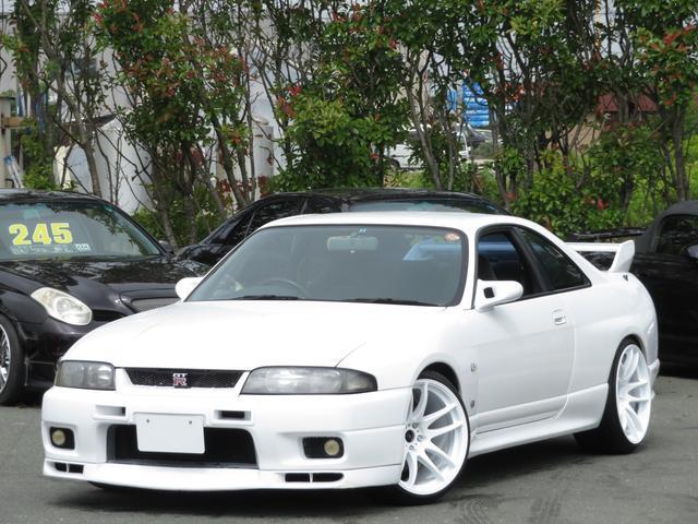 日産 GT-R 純正エアロ WORK18インチ ガナドールミラー