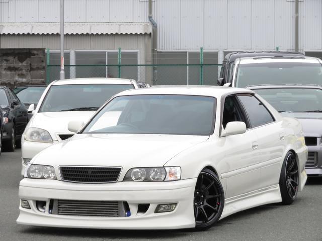 トヨタ ツアラーV エアロ クロススピード18インチ 5速MT